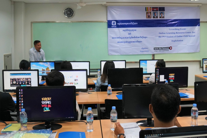 APLE Launches Internet Safety Courses for Professionals Working with Children.