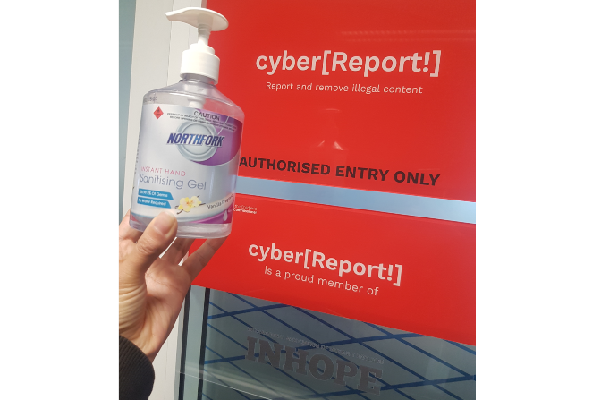 Cyber Report on working during COVID-19