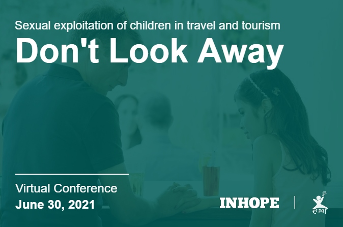 Don't Look Away, Report it - Virtual Conference