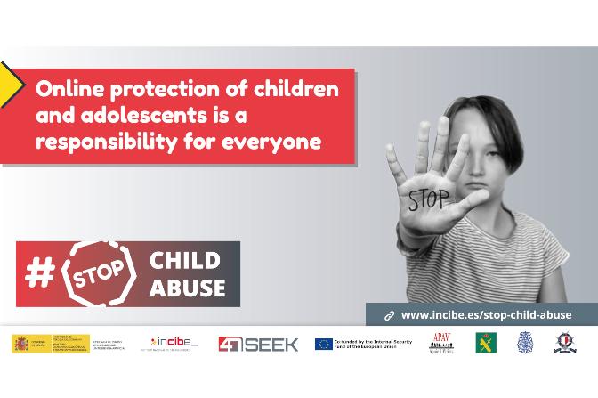 INCIBE Launch #StopChildAbuse Campaign