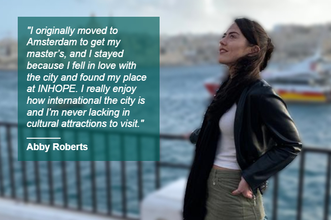 Meet Abby, the INHOPE Project Officer