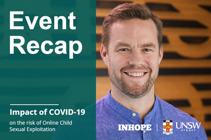 Online Child Sexual Exploitation during COVID-19 - Webinar Highlights