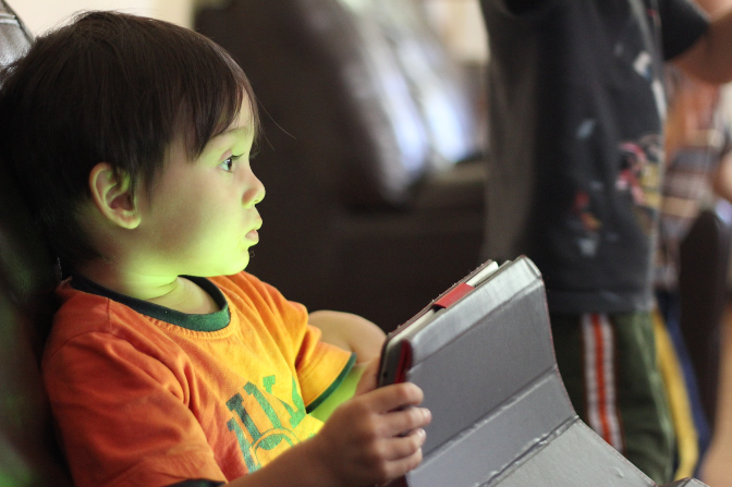 Technology and online child protection